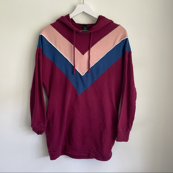 Wild Fable burgundy hoodie size XS